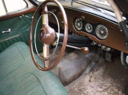 1951 HOTCHKISS 1350 ANJOU Numéro de série 2239  Carte grise française    L'Hotchkiss...