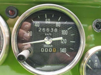 1982 CITROËN MEHARI 4X4 Numéro de série VF7AYCE0000CE4188  Restaurée intégralement...