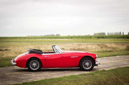 1964 AUSTIN HEALEY 3000 BJ7 Numéro de série HBJ7L24661  Modèle 4 places  Titre de...