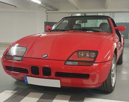 1989 BMW Z1 Numéro de série 0AL00534  Nombreux travaux réalisés par l'émission Vintage...