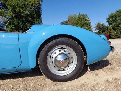 1959 MG A 1500 Numéro de série HDA4358219  Nombreux travaux récents  Contrôle technique...