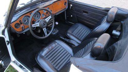 1974 TRIUMPH TR6 Numéro de série CF18851U  Conduite à gauche  Belle présentation...