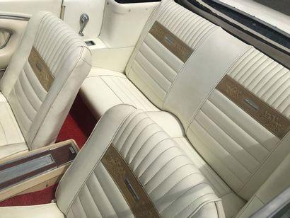 1965FORD MUSTANG CABRIOLET 289CI Numéro de série 5R08C223748  Très belle présentation...