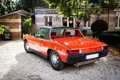 1970 PORSCHE 914 1.7L Numéro de série 4702905543  Bonne présentation  Carte grise...