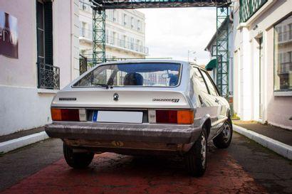1981 VOLKSWAGEN SCIROCCO 1600 GT Voiture de famille  79 500 kilomètres  Carte grise...