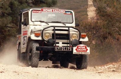 1982 TOYOTA FJ40 Numéro de série JT1V0FJ4000810177  Participation à la Croisière...