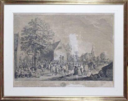 Jacques Philippe LEBAS 1707-1783 d'après...