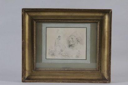Nicolas-Toussaint CHARLET (1792-1845) étude...