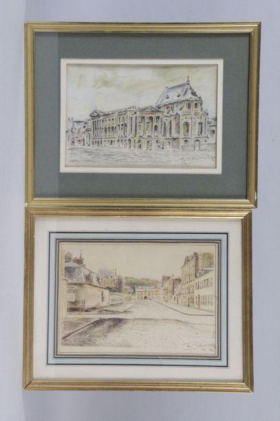 René PICHARD du PAGE 1886 -1966. La rue Royale...