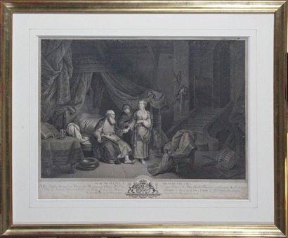 Jean-Georges WILLE (1775-1808) d'après Christian...