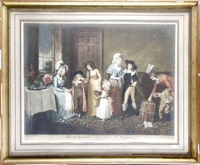 John JONES 1745-1797. Bigg (1755-1828) d'après...