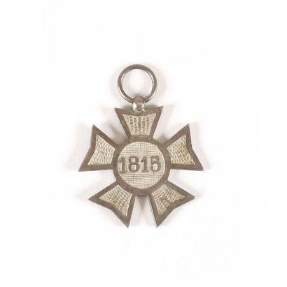 PAYS BAS MEDAILLE DES CAMPAGNES DE 1813 A...