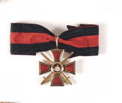 RUSSIE IMPERIALE ORDRE DE SAINT VLADIMIR...