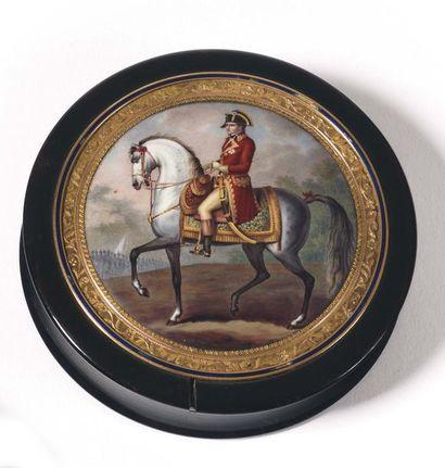 « Le Premier Consul Bonaparte à cheval »...