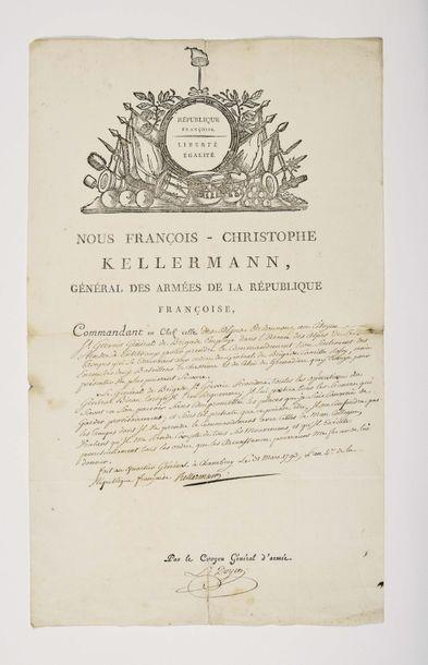 KELLERMANN (François-Étienne-Christophe)....