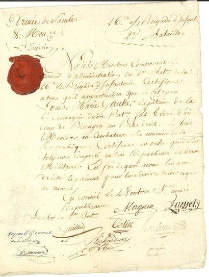 MARCEAU-DESGRAVIERS (François Séverin)....