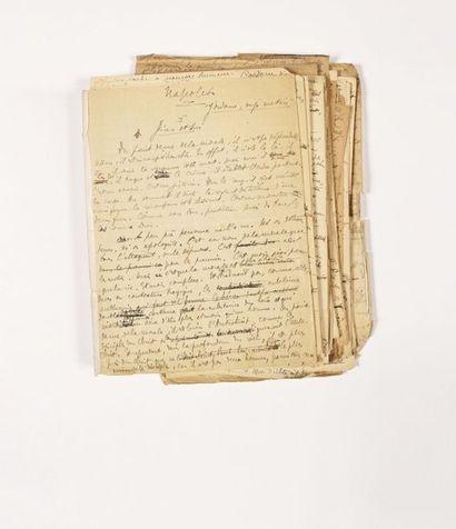 NAPOLÉON. – FAURE (Élie). Manuscrit intitulé...