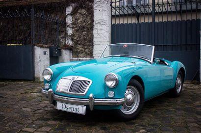 1959 MG A 1500
