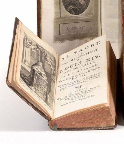 SACRE DE LOUIS XIV] Le Sacre et couronnement...