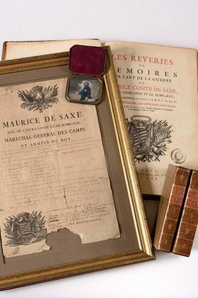 Maurice de Saxe, duc de Courlande et de Semigalie,...