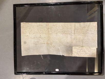 Arret du Conseil du Roi Louis XIII Surannation...