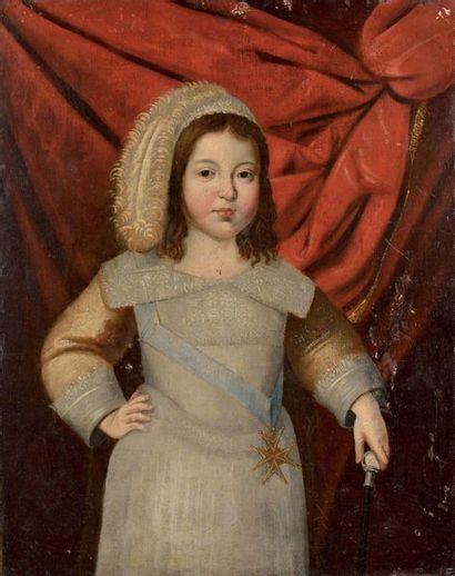 Claude DERUET (1588-1660), suiveur de Portrait...