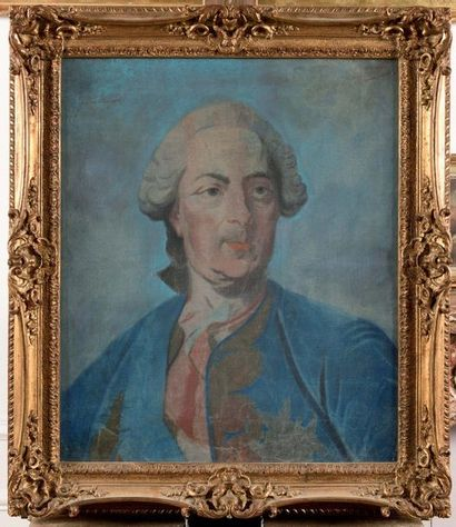 Louis-Michel VAN LOO, d'après Louis XV, roi...