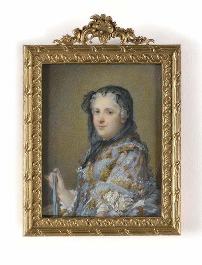 Maurice-Quentin de La TOUR (1703-1768), d'après...