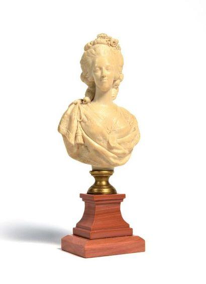 MARIE-ANTOINETTE Buste de la Reine Marie-Antoinette...