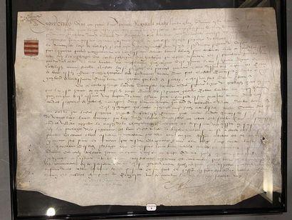 Lettres d'échange et contrechange entre Regne...