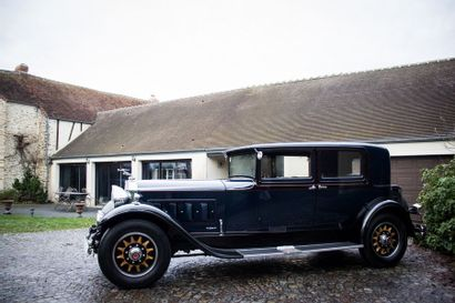 1930 PACKARD 745 Deluxe Eight Club Sedan Carrosserie : Sedan  Numéro de série (plaque)...