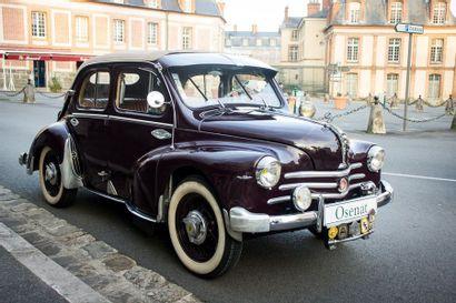 1956 RENAULT 4CV Découvrable