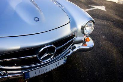 1958 MERCEDES-BENZ 190 SL Numéro de série 1210407501011  Bel état de restauration...