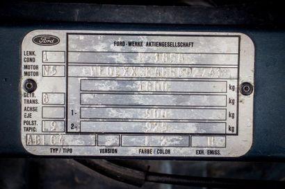 1996 FORD Escort RS Cosworth Numéro de série WF0BXXGKABRG92741  Modèle mythique et...