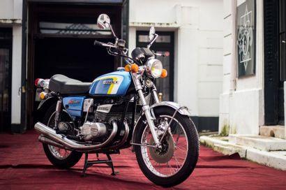 1974 SUZUKI GT 380