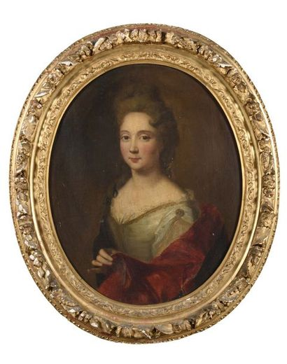 École Française du XVIIIe siècle Portrait...
