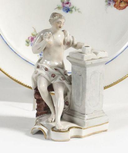 Frankenthal Statuette en porcelaine représentant...