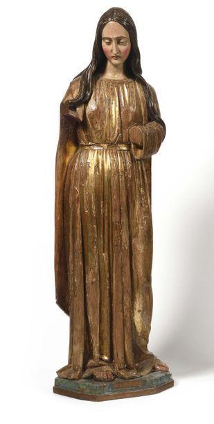 Sainte Marie-Madeleine en bois sculpté en...