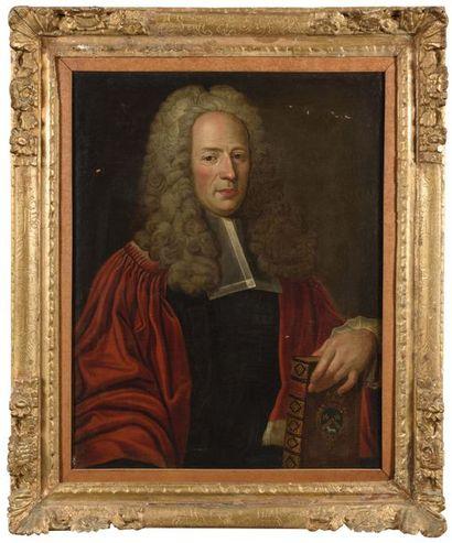 Ecole FRANCAISE vers 1720 Portrait d'un magistrat...