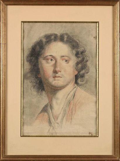 Ecole française vers 1800 Portrait d'homme...