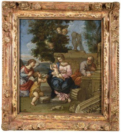 Ecole ROMAINE vers 1700, suiveur de Pierre...