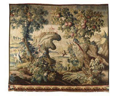 Panneau de tapisserie de la manufacture royale...