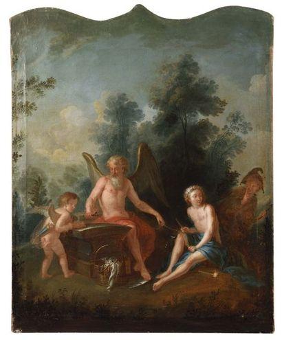 Ecole FRANCAISE du XVIIIe siècle La Jeunesse...