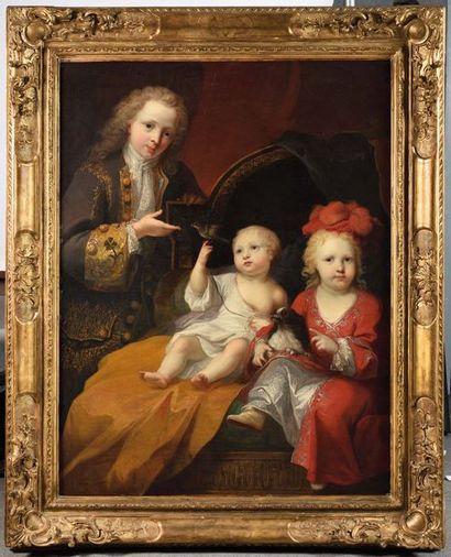 Attribué à Alexis Simon BELLE (1674 - 1734)...