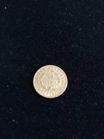FRANCE 1 pièce or Napoléon Ier 1804-1814...