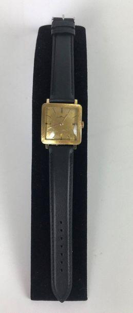 JAQUET DROZ, vers 1960 Montre bracelet en...