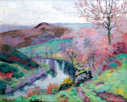 ARMAND GUILLAUMIN 1841-1927 Le puy Barriou...