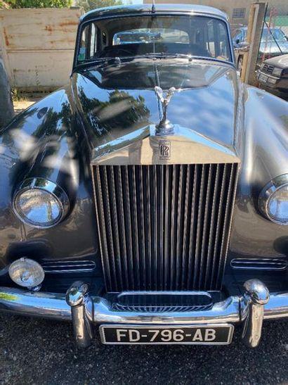 1961 ROLLS-ROYCE SILVER CLOUD II Châssis n° SX 5479  Carte grise française    D'une...