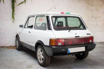 1985 AUTOBIANCHI A112 TYPE A112B15 EQUIPEE ABARTH Numéro de série ZAA1112B0001554756...
