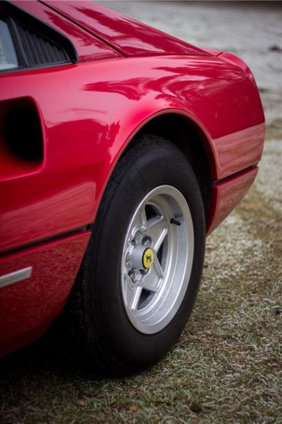 1984 FERRARI 308 GTBI Numéro de série ZFFHA01B000039747  Même propriétaire depuis...